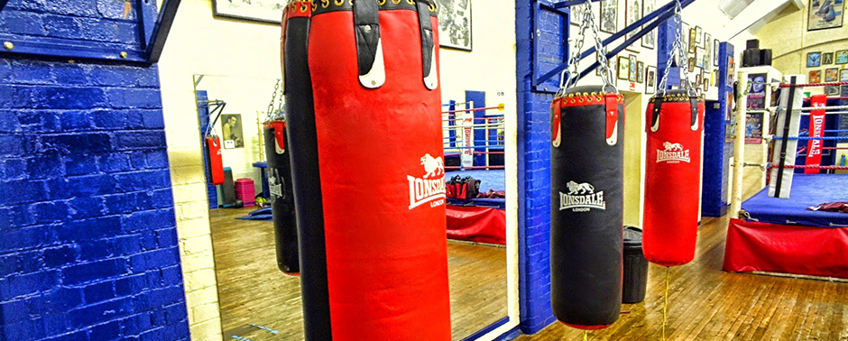 White Collar Boxing Training